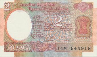 Indie, 2 Rupees (1970), P.79