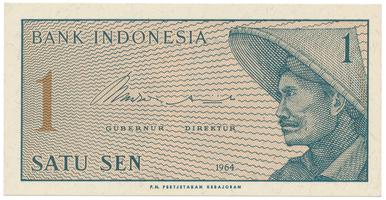 Indonésie, 1 Sen 1964, P.90
