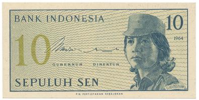 Indonésie, 10 Sen 1964, P.92