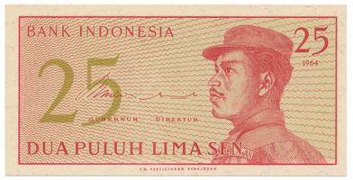 Indonésie, 25 Sen 1964, P.93