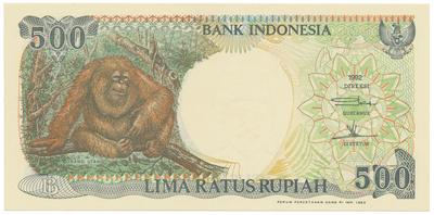 Indonésie, 10 Rupiah 1947, P.21