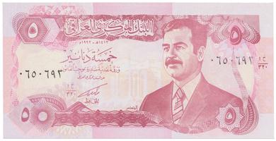 Irák, 5 Dinars 1992, P.80