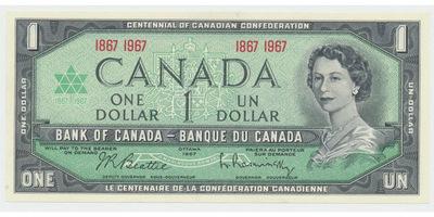 Kanada, 1 Dollar / 1967, P.84a