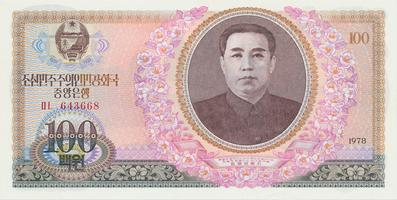 Severní Korea, 100 Won 1978, P.22