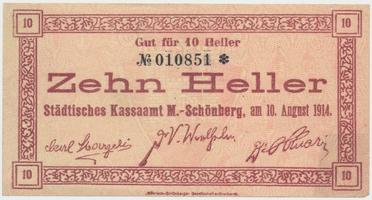 Mähr. Schönberg (Šumperk) - město, 10 h  1914, HH.132.2.1a