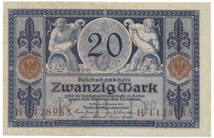 Německo, 20 Mark 1915, Ro.53