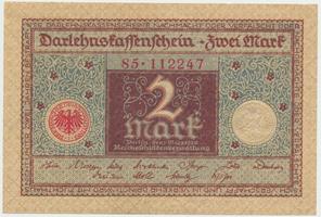 Německo, 2 Mark 1920, Ro.65