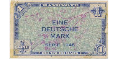 Německo - NSR, 1 DM 1948, Ro.232