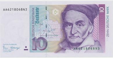 Německo - NSR, 10 DM 1989, Ro.292a