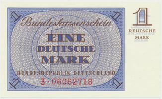 Německo - NSR, 1 DM (1967), Ro.317a