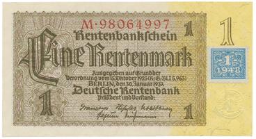 Německo - NDR, 1 DM 1948, Ro.330b