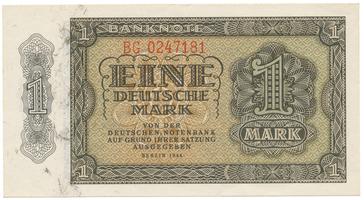 Německo - NDR, 1 DM 1948, Ro.340e