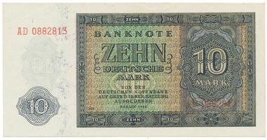 Německo - NDR, 10 DM 1948, Ro.343d