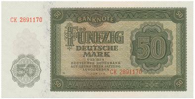Německo - NDR, 50 DM 1948, Ro.345b