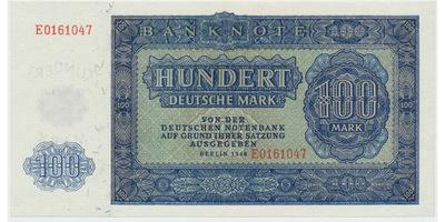 Německo - NDR, 100 DM 1948, Ro.346