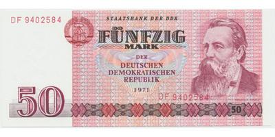 Německo - NDR, 50 DM 1975, Ro.360a