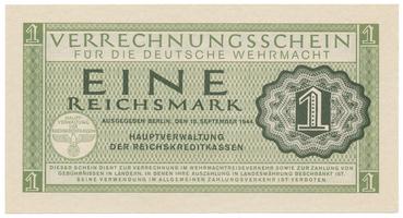 Německo - Wehrmacht, 1 Reichsmark 1944, Ro.511
