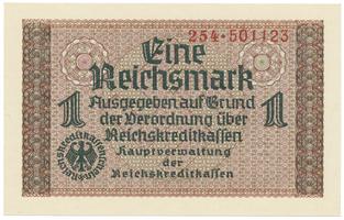 Německo - okupační, 1 Reichsmark (1939~1944), Ro.551a