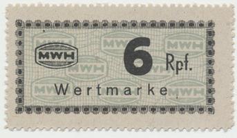 Holleischen (Holýšov) - MWH, 6 Reichspfennige b.d., Grab.Ho6