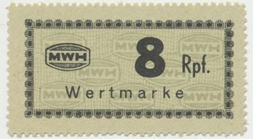 Holleischen (Holýšov) - MWH, 8 Reichspfennige b.d., Grab.Ho8