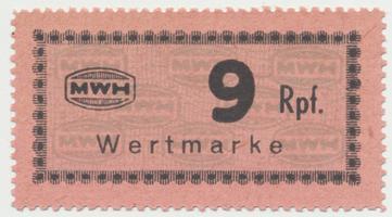 Holleischen (Holýšov) - MWH, 9 Reichspfennige b.d., Grab.Ho9