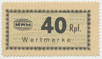 Holleischen (Holýšov) - MWH, 40 Reichspfennige b.d., Grab.Ho13