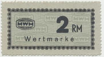 Holleischen (Holýšov) - MWH, 2 Reichsmark b.d., Grab.Ho16