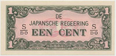 Nizozemská Indie - japonská okupace, 1 Cent (1942), P.119b