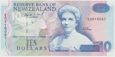 Nový Zéland, 10 Dollars (1994), P.182