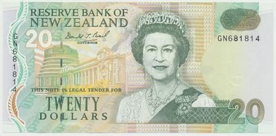 Nový Zéland, 20 Dollars (1994), P.183