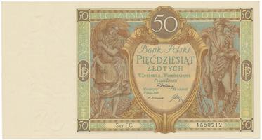 Polsko, 50 Zlotych 1929, BHK.PL9b