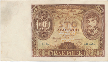 Polsko, 100 Zlotych 1934, BHK.PL12a