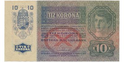 Rakousko - Uhersko, 10 Koruna / 1915, Baj.RU5