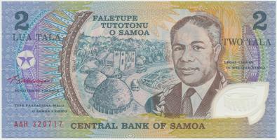 Samoa, 2 Tala (1990), plastová, P.31e