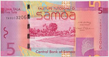 Samoa, 5 Tala 2008, P.38a