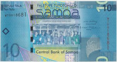 Samoa, 10 Tala 2008, P.39a