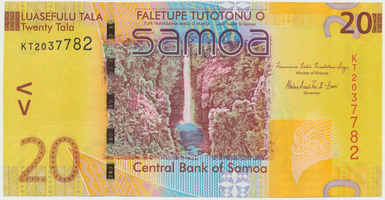 Samoa, 20 Tala 2008, P.40a