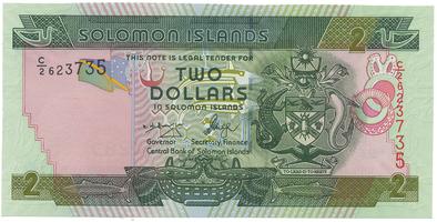 Šalamounovy ostrovy, 2 Dollars (2004), P.25