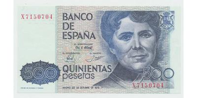 Španělsko, 500 Pesetas 1979, P.157