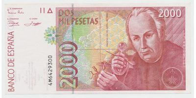 Španělsko, 2000 Pesetas 1992, P.164