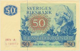 Švédsko, 50 Kronor 1974, P.53b