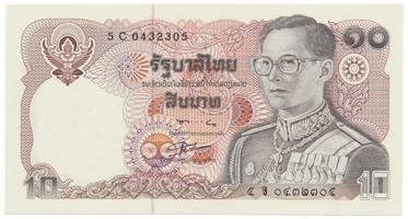 Thajsko, 10 Baht (1980), P.87