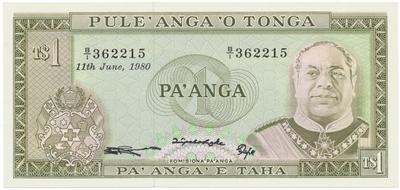 Tonga, 1 Pa´nga (1995), P.31b