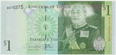 Tonga, 1 Pa´nga (2008), P.37