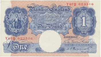 Velká Británie, 1 Poud b.d. (1940~1949), P.367a