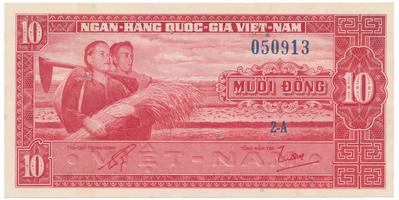 Jižní Vietnam, 1, 2, 5, 10 Dong (1955~62), P.5, 11~13, sada 4 ks