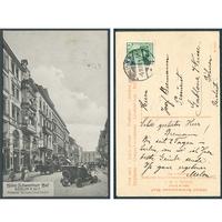 Německo, Berlín 1908, Hotel Schweriner Hof