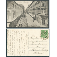 Rakousko, Videň Wien 1915, Westbahnstrasse