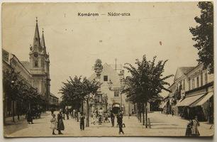 Slovensko, Komárno, Komárom, Nádor-utca