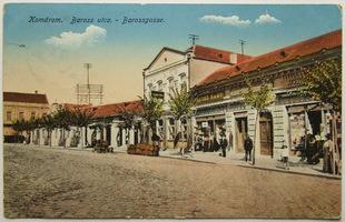 Slovensko, Komárno, Komárom, Baross utca